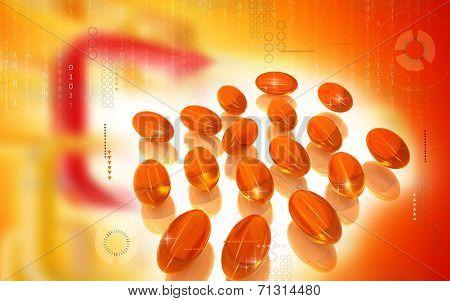 Liver cod capsule