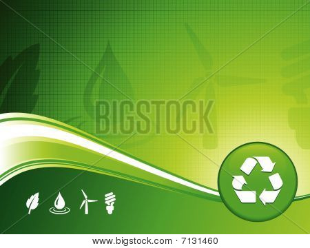 Green Environment Background