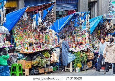La Paz Witches Market