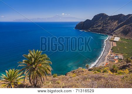 Beautiful Beach In La Gomera Island - Canary