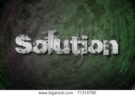 Solution Concept
