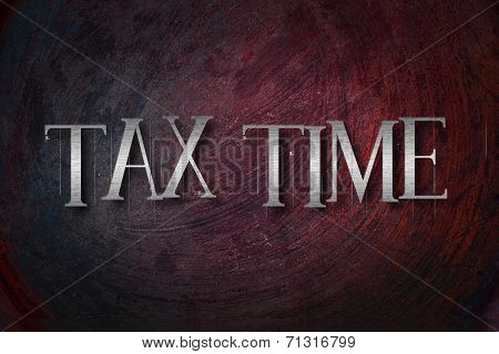 Tax Time Concept