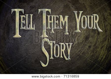 What Is Your Story Concept