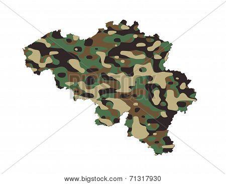 Belgium - Army Camo Pattern