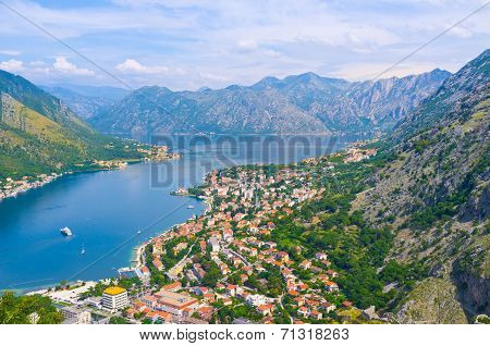 The Fjord Of Montenegro