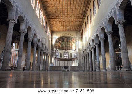 Basilica Of Saint Sabina In Rome