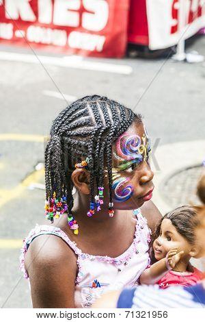 People Celebrate Bastille Festival In 60Th Street In New York
