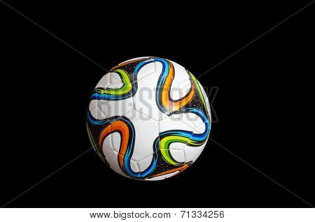 Soccer Ball / Football Decorated With 2014 World Cup Insignia