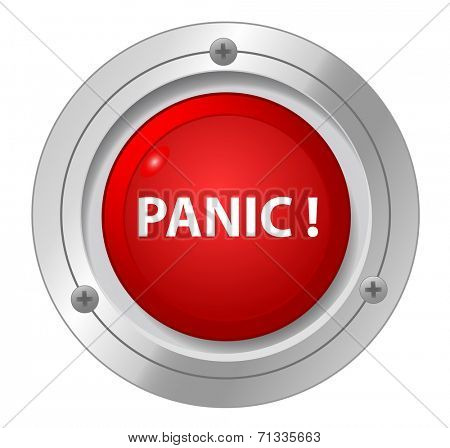 A panic red button.