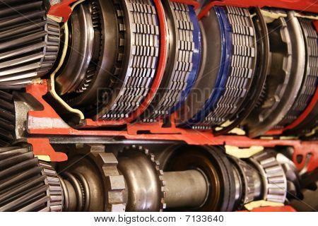 Gearbox inside