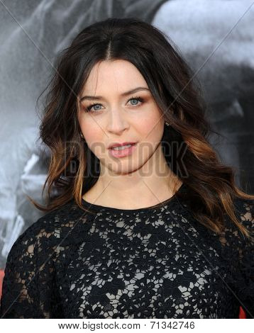 LOS ANGELES - AUG 13:  Caterina Scorsone arrives to the