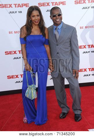 LOS ANGELES - JUL 10:  Penny Johnson & Gralin Jerald arrives to the