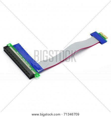 PCI-E Extender Cable Isolated