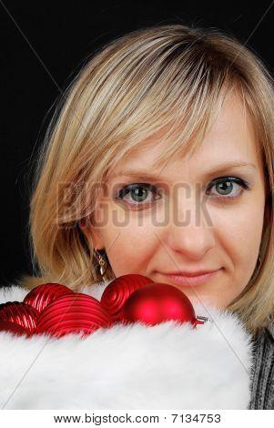 Christmas Woman.
