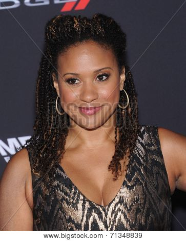 LOS ANGELES - AUG 19:  Tracie Thoms arrives to the