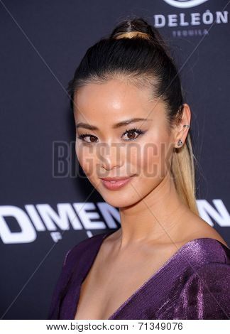LOS ANGELES - AUG 19:  Jamie Chung arrives to the