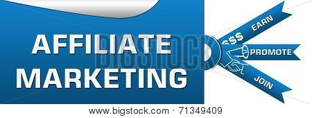 Affiliate Marketing Three Stripes Banner