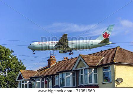 Air Canada at Heathrow