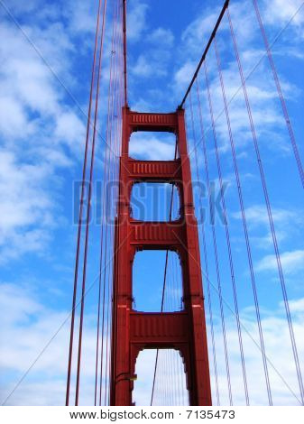 Tower of Golden Gate Bridge