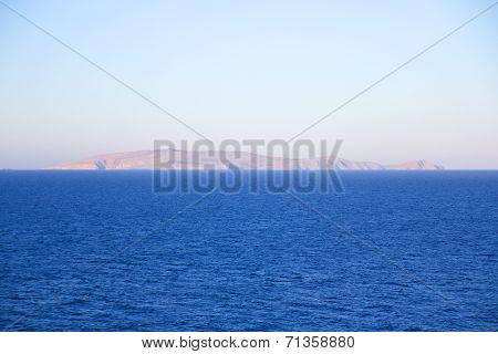 Little Uninhabited Island In The Sea