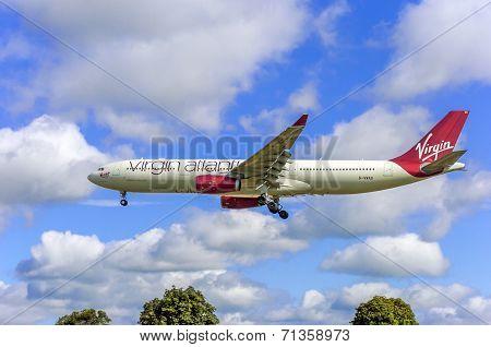 Virgin Atlantic Airbus