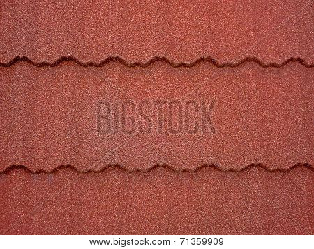Colored Asphalt Roof Structure 1
