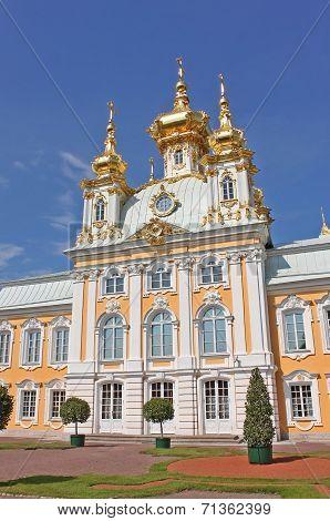 Palace Church in Peterhof, Russia