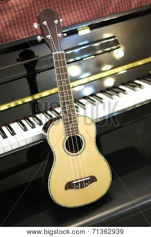 Ukulele and piano