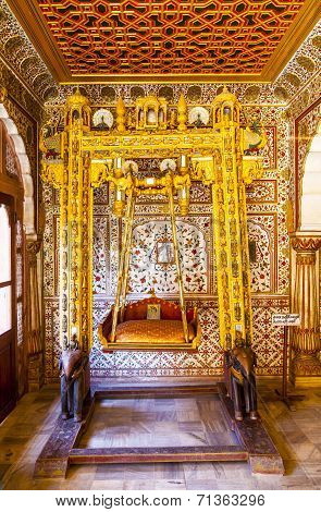 Inside The Junagarh Fort In Bikaner