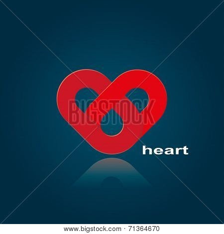 Symbol Of Red Heart