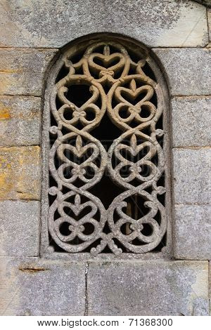 Stunning Lattice Window In Pre-romanesque Church
