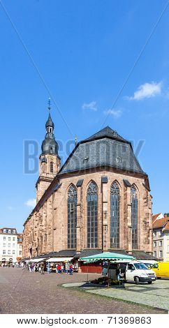 Church Of The Holy Spirit In Heidelberg