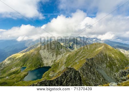 Capra Lake, Fagaras Mountaines, Romania