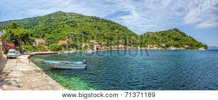 Adriatic landscape panorama