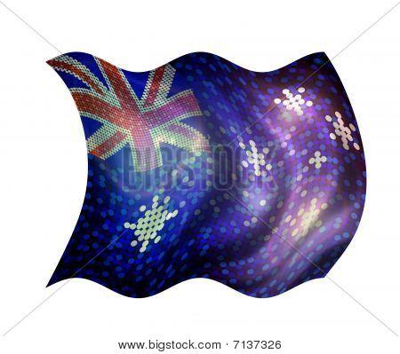 Sparkling Flag Of Australia