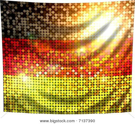 Sparkling Flag Of Germany