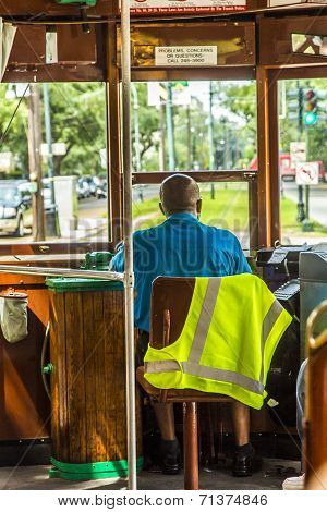 Conductor In The Famous Old Street