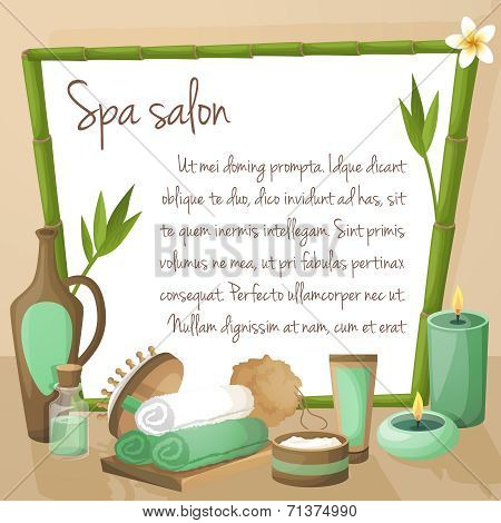 Spa salon background