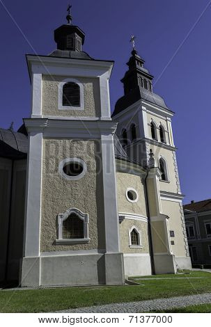 Church in Daruvar, Croatia