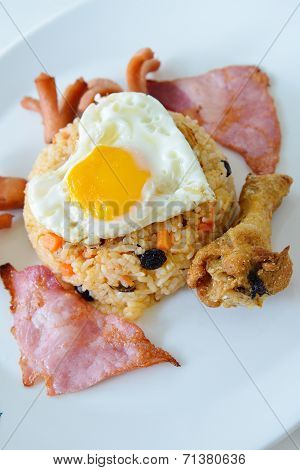 Thai Food, American Fried Rice