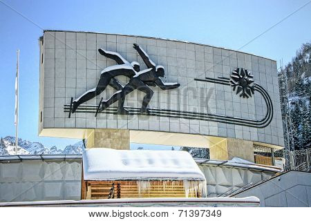 Medeo (medeu) Skating Rink In Almaty, Kazakhstan