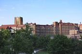 stock photo of knoxville tennessee  - View of the University of Tennessee campus Knoxville Tennessee - JPG