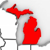 Michigan Sate Map