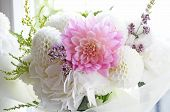 picture of hydrangea  - Flower arrangement - JPG