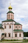 picture of epiphany  - Valday Iversky Monastery is a Russian Orthodox monastery founded by Patriarch Nikon in 1653 - JPG
