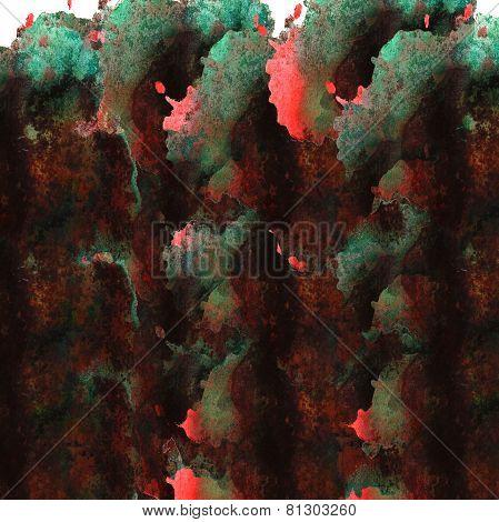 modern art avant-guard texture background wallpaper green, red,
