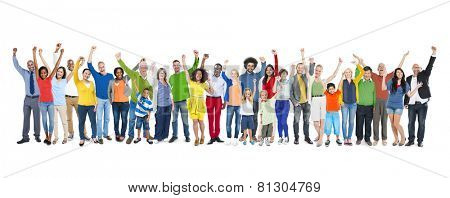 Diversity Ethnicity Multi-Ethnic Variation Togetherness Unity Team Concept