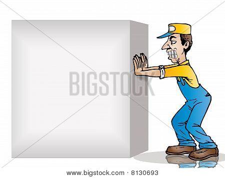 Push Blank Box