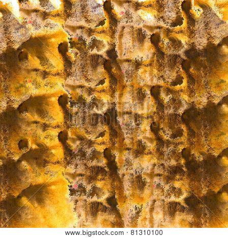 modern art avant-guard texture background yellow, brown wallpape