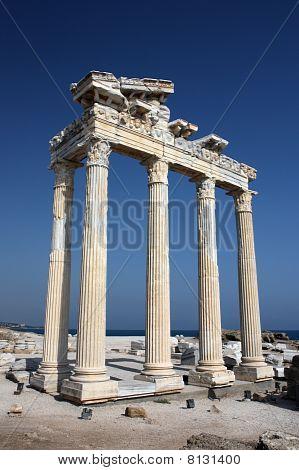 Apollo Temle In Side Turkey